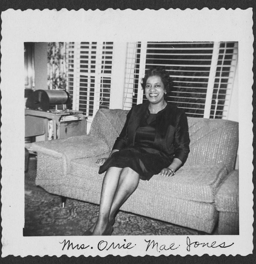 Mrs Orrie Mae Jones Circa 1958 Atlanta University Center
